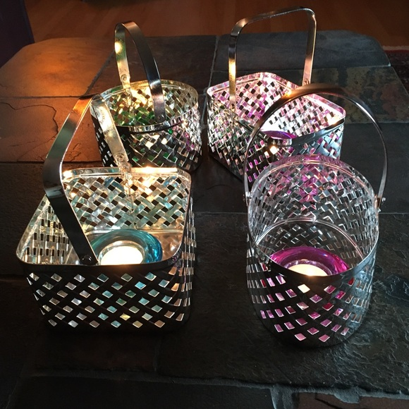 Set of Silver Plated Baskets